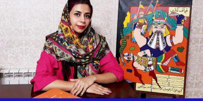 صحبت های خانم مونا گلابی در مورد (چرا بچه ها سقف خانه ها را شیروانی می کشند در حالی که در آپارتمان زندگی می کنند؟)