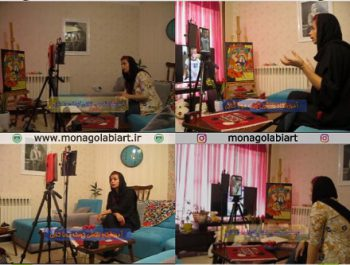 اولین آموزشگاه آنلاین نقاشی کودک تهران